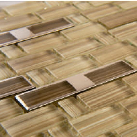 Malla Decorativa Para Muro Mod. Bambu Té Importación