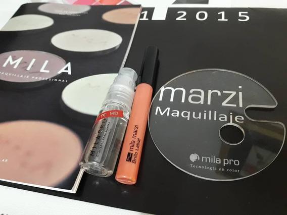 Paleta Mezcladora De Mila Marzi Para Maquilladoras