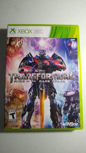 Transformers Rise Of The Dark Spark Xbox 360 Lenny Star Game