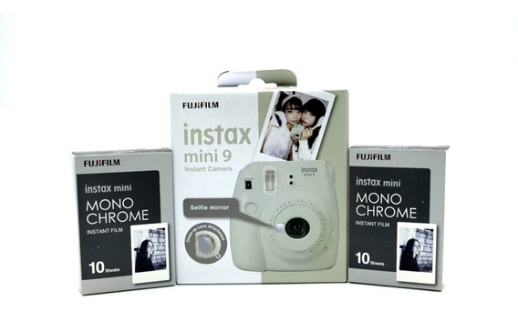 Câmera Branco Gelo +20 Filmes Monochrome
