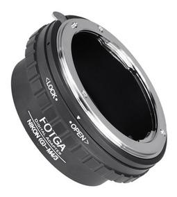 Adaptador De Lente Nikon Para Mft M4/3 Bmpcc Gh5 Gh4