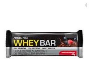 Whey Bar Frutas Vermelhas 40g - Probiotica