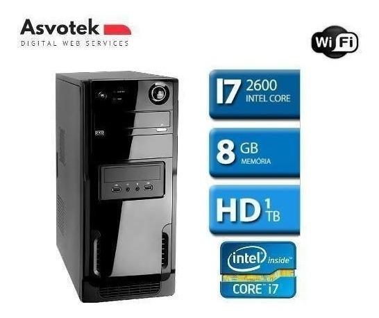Computador Intel Core I7 8gb 1tb Mod.asi781tb