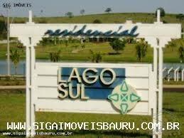 Terreno Para Venda Em Bauru, Res. Lago Sul - 1121