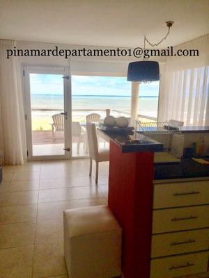 Alquiler Departamentos Sobre La Playa, Frente Al Mar Pinamar