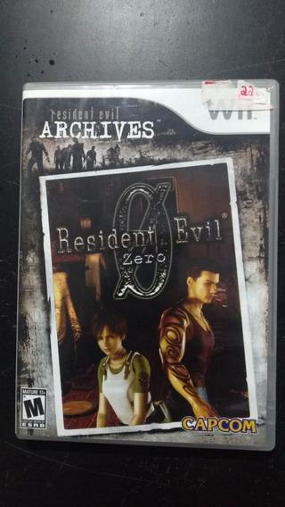 Resident Evil: Zero Wii (frete 18 Reais)