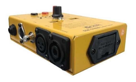Testador De Cabo Csr Ct 02 B - Usb Rca Xlr P10 Speakon - Nfe