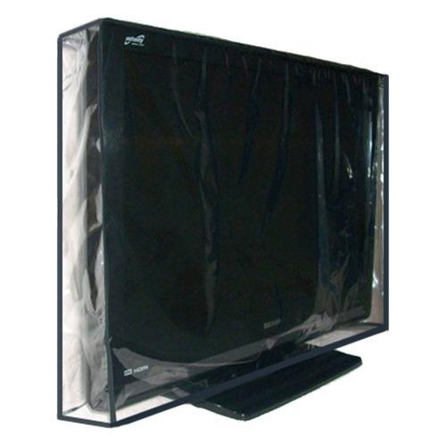 Capa Em Pvc Cristal 100% Impermeável Para Tv Lcd 55