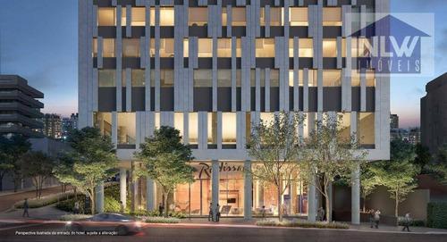 Hotel Com 1 Dormitório À Venda, 22 M² Por R$ 619.000,00 - Pinheiros - São Paulo/sp - Ho0001