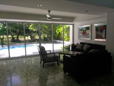 Espectacular Villa En Alquiler En Metro Country Club