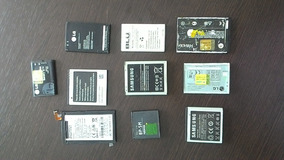 10 Baterias Samsung Usadas Varios Modelos Barato