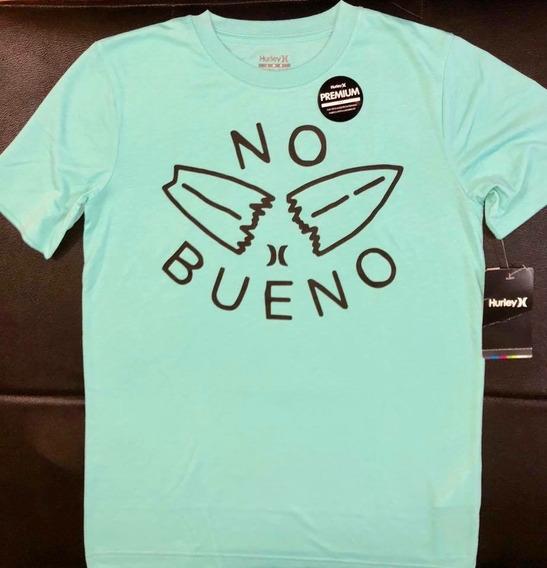 Camiseta Da Hurley Infantil, De 13 A 15 Anos, Nova, Original