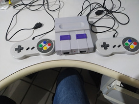 Minivídeo Game Retrô Case Snes