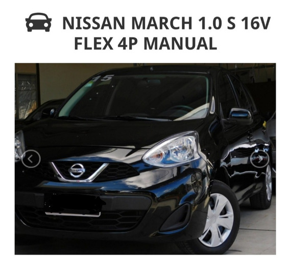 Nissan March 1.0 S 5p 2015