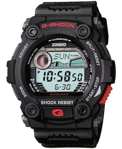 Reloj Casio G-shock G-7900-1 Digital Negro Para Hombre 20bar