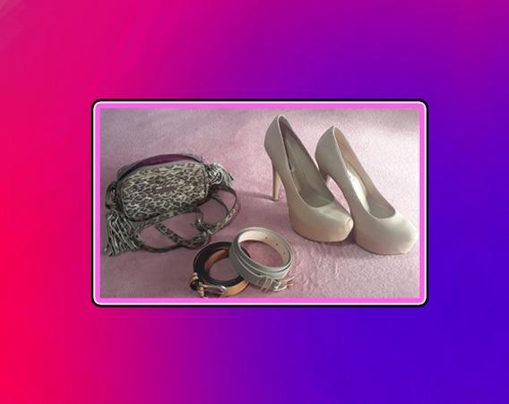 Combo Indumentaria / Cartera - Cinturón Zapatos