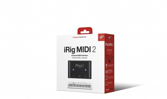 Interface Ik Multimedia Irig Midi 2 Midi Universal