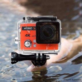 Câmera Atrio Fullsport 4k (wifi) Com Cartão De Memória 32 Gb