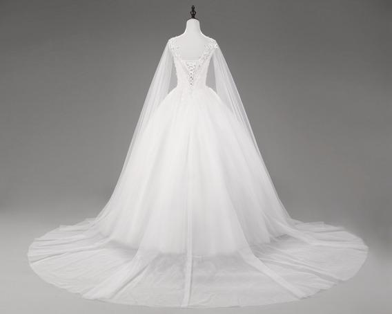 Vestido Boda Manjas Largas Envio Gratis ! W-35607
