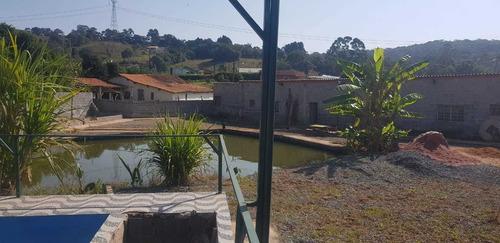 Imagem 1 de 13 de Boa Chácara C/ Piscina E Lago