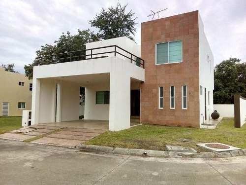 Renta De Casa Amueblada En Fracc. Los Encinos, Altamira