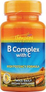Complexo B Com Vitamina C Thompson 60cps