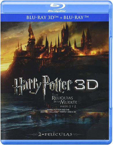 Harry Potter Reliquias De La Muerte Parte 1 Y 2 Blu-ray 3d