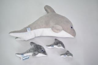 Delfines Promo *4 De 60cm,32cm,19cm Y 12cm Mundo Marino