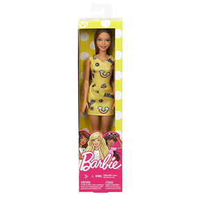 Boneca Barbie Fashion And Beauty - Vestido Amarelo