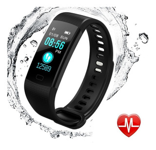 Relógio Inteligente Pulseira Smartband Y5 Monitor Pressaoart