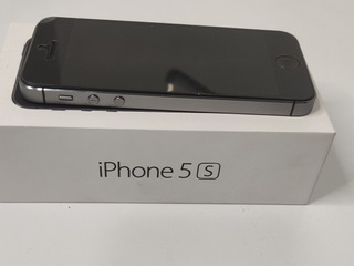 iPhone 5s 32gb Zeradoo De Vitrine- Original Garantia 3 Meses