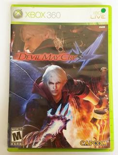 Videojuego Xbox 360 Devil May Cry 4 Original Fisico Usado