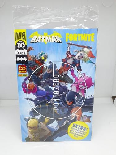 Imagem 1 de 6 de Hq Batman/fortnite Ponto Zero Vol 2 Lançamento 2021 Lacrado