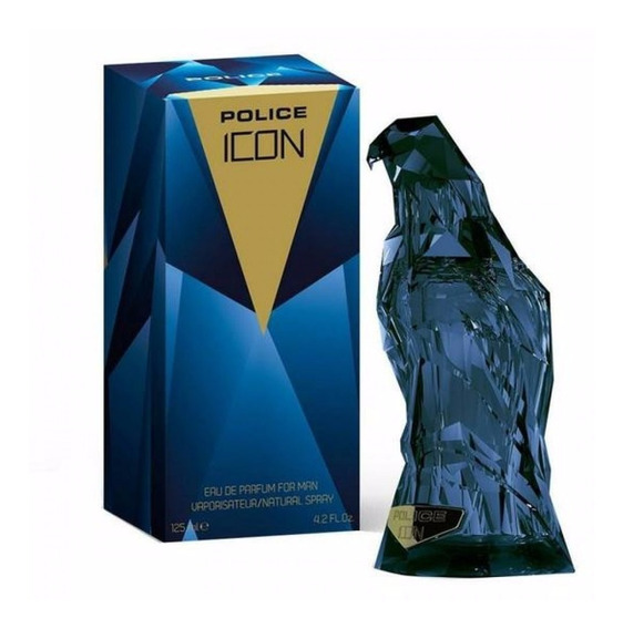 Perfume Police Icon Edp Masculino 125ml Original Lacrado