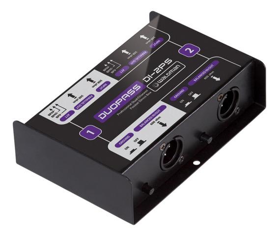 Direct Box Duopass Di-2ps Passivo 2 Conexões - Waldman