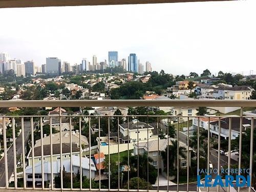 Imagem 1 de 8 de Apartamento - Alphaville - Sp - 455225