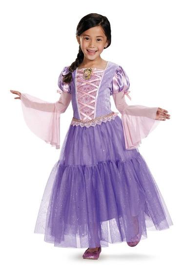Disfraz Princesa Rapunzel Original De Disney Con Accesorios