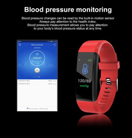 Relógio Inteligente Pressão Arterial Monitor Cardíaco Sport