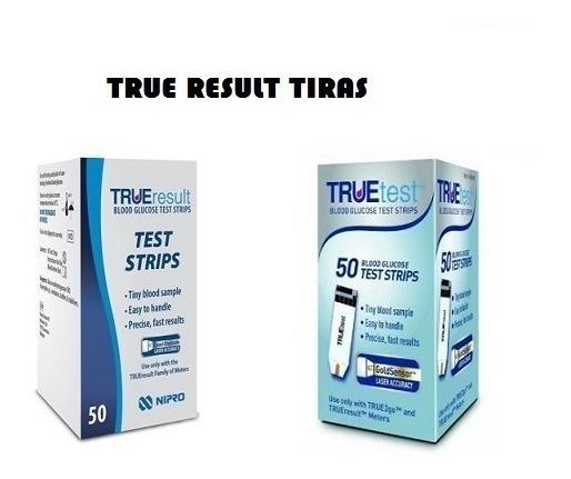 True Result, True Test Tiras Reactivas Glucosa Nipro