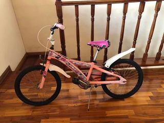 Bicicleta X-terra Space Girl Rodado 20