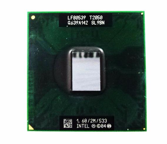 Processador Intel T2050 Core Duo 478 1.6/2m/533