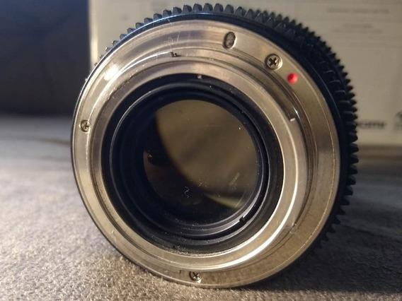 Lente Rokinon 35mm 1.5 Cine Para Canon
