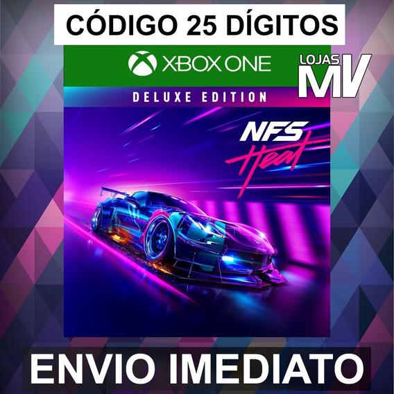 Need For Speed Heat Deluxe Código 25 Digitos Xbox One