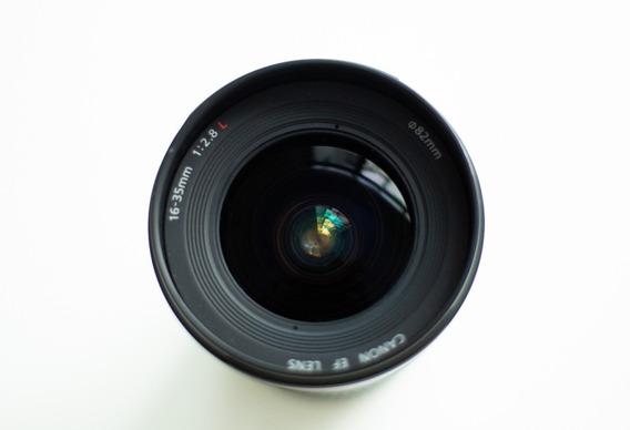Lente Canon Ef 16mm - 35mm F/2.8 L Ii Usm (ótimo Estado)