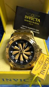 Relógio Invicta Speedway Dourado