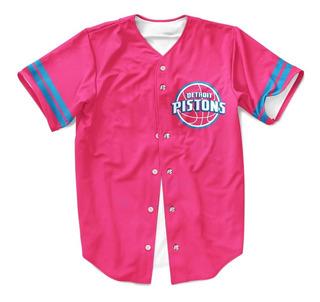Camiseta Baquetebol Basquete Detroit Pistons 4 Sport Jersey