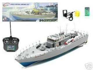 Barco De Combate De 20 Rc Boat Navy Ht-2877 (color Y Model