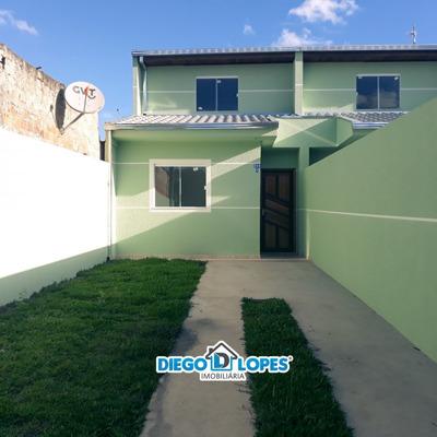 Casa Para Venda No Campo De Santana Em Curitiba - Pr - 420