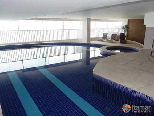 Imagem 1 de 30 de Apartamento Com 4 Dormitórios À Venda, 210 M² Por R$ 2.200.000,00 - Centro - Guarapari/es - Ap2726