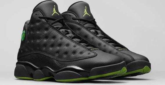Jordan Xiii 13 Retro Altitud Green Nuevos Originales Con Caj